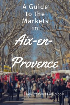 Aix-en-Provence is a market lover's paradise. Read our guide to all of the markets in Aix-en-Provence to help you plan your visit. Aix En Provence, Provence France, Moustiers Sainte Marie, Travel Photographie, Chateauneuf Du Pape, Valensole, Southern France, Visit France, France Travel