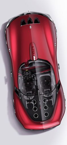 250 gto on Behance by guillaume brault