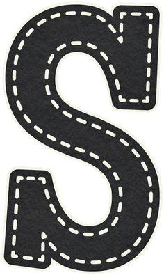 Artigo relacionado Moldes de Letras Negras Grandes contenido em Moldes de letras Alphabet Art, Alphabet And Numbers, Banner Letters, Construction Birthday, Printable Letters, Diy And Crafts, Stencils, Clip Art, Printables