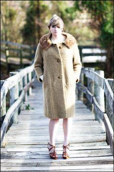 HUGE SALE  Womens Large Coat  Mad Men Womens Jacket  by MyAvonlea, $125.00