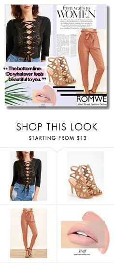 """Romwe 3"" by crvenamalina ❤ liked on Polyvore"