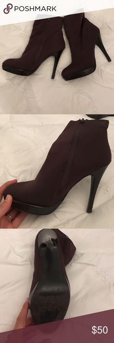 """Charles David High heeled booties Some wear but still in good condition. Synthetic material, 4"""" heel. SORRY NO TRADES. Charles David Shoes Ankle Boots & Booties"""