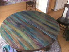 #unicorn spit and epoxy on my DR table