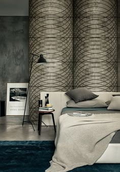 Graphic pattern for truly original visual effects #wallpaper by @wallanddeco