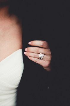 That's my ring! I want a wedding band like this one to go with it :)