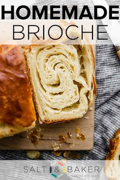 Brioche Loaf, Brioche Recipe, Salted Chocolate, Braised Beef, French Toast Casserole, Bread And Pastries, Dessert Bread, Banana Bread Recipes, Mets