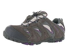 6a3085fbf5e6 HiTec Palo Alto EZ WP Boys Hiking Shoes Size US 2 Regular Width Color  GrayPurple     See this great product.