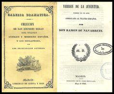 Yerros de la juventud : comedia en un acto / arreglada al teatro español por Ramón de Navarrete.  http://bvirtual.bibliotecas.csic.es/csic:csicalephbib000549514