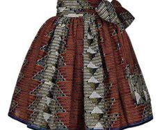 Jupe patineuse Ankara Maya, jupes Midi Ankara, pagne, jupe Ankara, jupe midi africain, jupe courte, jupe imprimé africain, jupes Midi