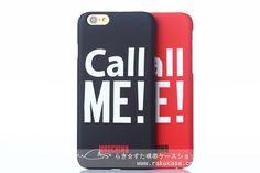 モスキーノ(Moschino)Call me iPhone6つや消し携帯カバー » RAKUCASE.COM