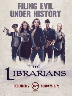 Présentation de The Librarians, nouvelle série pleine d'aventure et de magie!