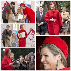03-02-2015 Queen Maxima of the Netherlands at the Central Child Award in Goirle.