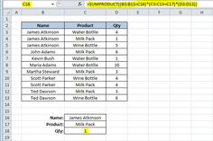 Looking up two criteria using SUMPRODUCT