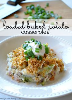 Loaded Baked Potato Casserole Recipe