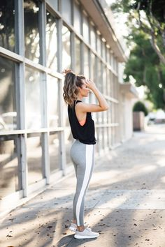 Summer Outfits Women - Five ways to achieve your health goals this year with - Summer Outfits - Summer Outfits Legging Outfits, Athleisure Outfits, Sporty Outfits, Athletic Outfits, Athletic Wear, Athletic Clothes, Gym Outfits, Pants Outfit, Running Outfits