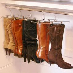 DIY Boot Hangers