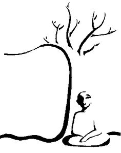 easy buddha drawings | Signposts to Eden: Buddhist Zen Mind