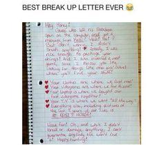 PreValentineS Day Breakup Form Letter D  Breakup Letters