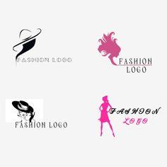 أزياء الملابس شعار ناقلات قالب الحرة Logo Free, Free Logo Templates, Clothing Logo Design, Fashion Logo Design, Logo Design Tutorial, Logo Design Template, Fashion Taglines, Logo Ikon, Lady Logo