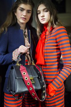 Julie de Libran teams up with artist Maggie Cardelús for Sonia Rykiel's AW16 show at PFW, where bold stripes, colour and feminine silhouettes reign supreme.