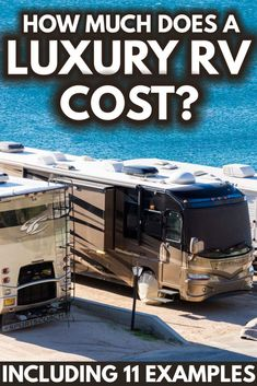 How Much Does A Luxury RV Cost? (Inc. 11 Examples) - Article by Vehicle HQ #VEHQ.com #VEHQ #RV #rvlife #automotive Vacation Mood, Vacation Style, Luxury Rv, Luxury Life, Best Vacations, Vacation Destinations, Rv Vehicle, Car Guide, Buying An Rv