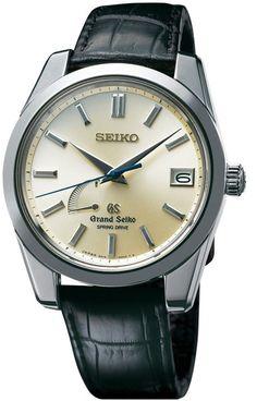 Grand Seiko Watch Spring Drive Platinum Limited Edition