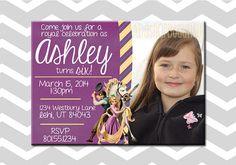 Customizable Tangled Girl Birthday by ADashOfBeautiful on Etsy, $8.00