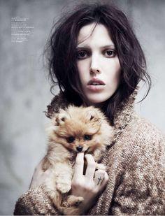 Ruby Aldridge by Stian Foss for Jalouse Magazine October 2013