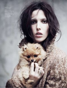 Ruby Aldridge by Stian Foss for Jalouse Magazine October 2013