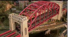 model railroad bridges | Model Railroad Bridgesoffers custom-built structures that are produced ...
