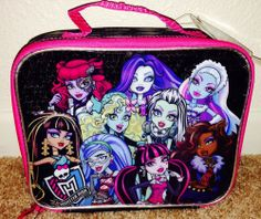 Monster High Lunch Box NEW   back to school supplies