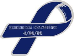 We were really little when the Columbine shooting happened, but I know it affected every Colorado family. Prayers are with those families still. -H