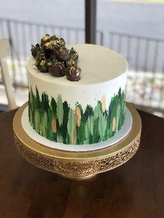 Hunting Birthday Cakes, Green Birthday Cakes, Jungle Birthday Cakes, Jungle Theme Cakes, 80 Birthday Cake, Elegant Birthday Cakes, Safari Cakes, Pretty Birthday Cakes, Pretty Cakes