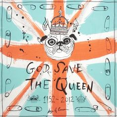 Queen's Diamond Jubilee: Top 20 fashion piecesMix things up with this fierce silk scarf  by Age of Reason, from Coco de Mer