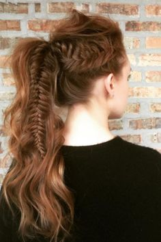 Pin for Later: 25 Queues de Cheval Fishtail Qui Vont Vous Donner des Envies de Tresses