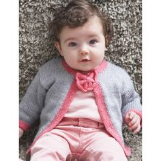 Free Easy Baby's Cardigan Knit Pattern