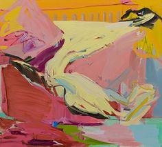 Sarah Awad, Glacier V, 2013, oil on canvas, 38 x 42 in