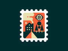 Stamp No. 1 by Tim Boelaars