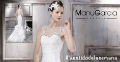 #Vestidodelasemana #ManuGarcia #Moda #MadeinSpain #Novias #Vestidodenovia #Tul