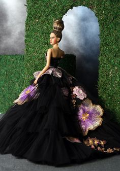 LBF Grand Finale gown back