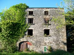 The old family mill in Cootehill, County Cavan, Ireland