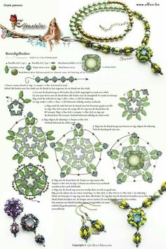 Seed bead jewelry Elfenatelier - superduo component ~ Seed Bead Tutorials Discovred by : Linda Linebaugh Beaded Beads, Beaded Necklace Patterns, Beaded Jewelry Designs, Seed Bead Jewelry, Bead Earrings, Bracelet Patterns, Crystal Earrings, Crochet Necklace, Beading Patterns Free