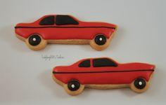 Muscle car cookies