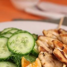 Kebab, Pickles, Cucumber, Healthy Recipes, Healthy Food, Vegetables, Fitness, The Body, Salads