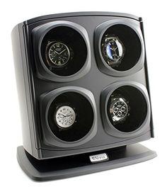 Great gift idea Versa Quad Watch Winder in Black