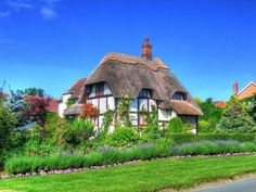 Thatch cottage by rg hollis, cottage, thatched roof, england uploaded by WarlockGuy