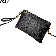 8d69a99f4a9ac Hot sale new alligator Mini shoulder bag ladies leather clutches small phone  bags for women wristlets coin purse and handbag PU