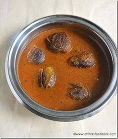 Delicious ennai kathirikkai kuzhambu - Tamilnadu style