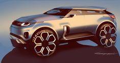 """2,649 Me gusta, 18 comentarios - Car Design World (@cardesignworld) en Instagram: """"Range Rover by Roman Egorov @carchitector #cardesign #car #design #carsketch #sketch #rangerover"""""""
