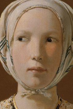 Georges De La Tour. I love La Tour. I believe this is a detail. That woman looks skeptical or a little apprehensive.